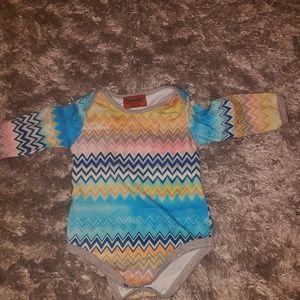 Missoni baby bodysuit